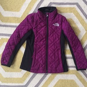 North Face lightweight puffer jacket